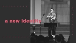 60 Seconds on your New Identity | Jon Jorgenson Speaking
