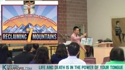 LIFE and DEATH Is In The Power of YOUR Tongue - Prov 18:21 - Mark 11:20-24