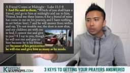 3 Keys to Getting Your Prayers Answered