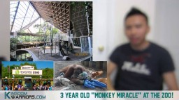 "3 Year Old ""Monkey MIRACLE"" At The ZOO!"