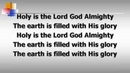 Holy is the Lord (worship video w/ lyrics)