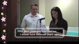 Middle East Muslim, Baptized & join Church...Testimony(subtitles)
