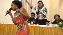 """11 yr/old Jayna sings """"Take Me to the King"""" Tamela Mann"""