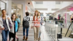 Ginny Owens - How I See It (Walking With A Blind Person)