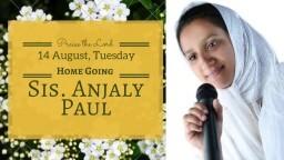 In HIS Time - Sis Anjali Paul & Asher Jijo