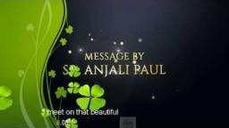 The Bride : Sis Anjali Paul at Bethel AG Bangalore