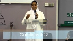 The Meaning of Salvation - Sermon by Sis. Anjali Paul