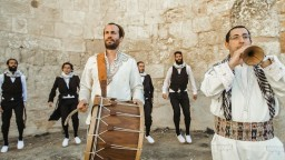 Yoni Sharon - 'IN THE KING'S CHAMBERS' - oriental music and dabke dance יוני שרון