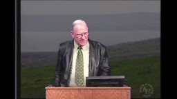 Chronology of The Gospels Chuck Missler