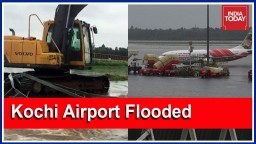 Kochi Airport Flooded, Shut Till Saturday; Kochi Metro Suspended | Kerala Floods