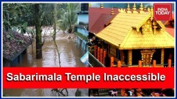 Sabarimala Temple Inaccessible Due To Kerala Floods, 2 Shutters Of Idukki Dam Closed