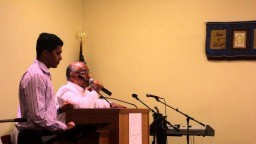 The woman who touched Jesus - Pastor T.D. Babu