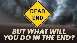 But What Will You Do In The End? - Pr. Manoj Kuzhikkala
