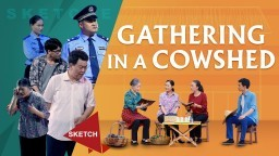 "Christian Skit ""Gathering in a Cowshed"" 