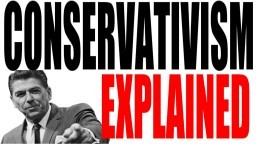 What is a Conservative?