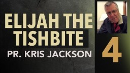 Elijah the Tishbite 4 - Where he Guides He Provides - Pastor Kris Jackson