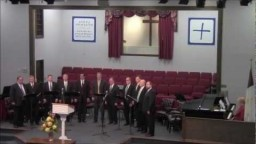 There's Room At The Cross - SMS Men's Chorus