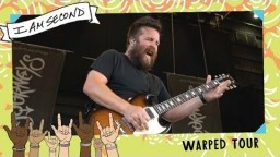 I Am Second on Warped Tour - UNDERØATH