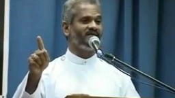 Powerful speech by Dr. P P Thomas on christian life and values - Malayalam