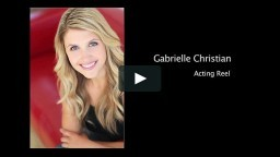 Acting Reel (Comedy) 2011 Gabrielle Christian