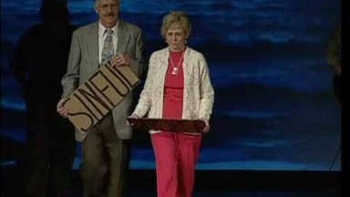 Cardboard Testimonies A Local church powerfully displays God's ability to change lives!
