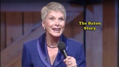 Jeanne Robertson jokes The Audience With Funny Pageant Story