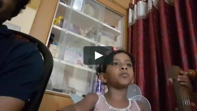 little girl Juana singing video ( TAMIL CHRISTIAN SONG)