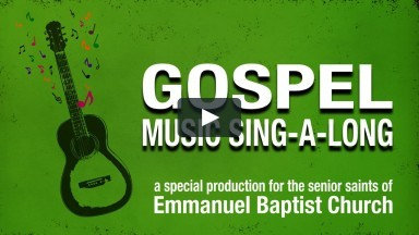 Gospel Music Sing-A-Long