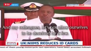 Kenyan President REFUTES Mark of the Beast Accusation!