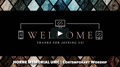 August 9, 2020 - Contemporary Worship