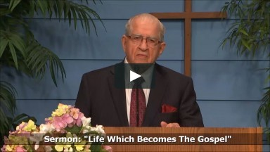 Life Which Becomes the Gospel - Philippians 1:21-30