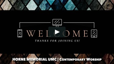 August 23, 2020 - Contemporary Worship Service