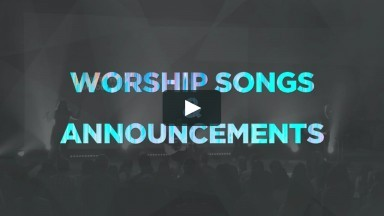 August 22, 2020 - Worship songs and Announcements