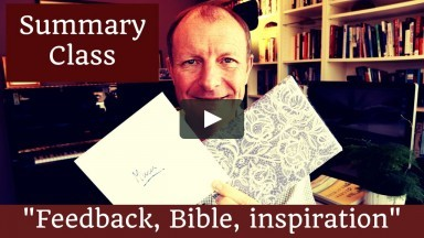 """Feedback, Bible, Inspiration"". Summary class, Tuesday Teaching Tips: Episode 214"