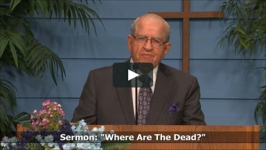 Where are the Dead? - Luke 16:19-31