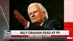 Breaking! Billy Graham Dead at 99.