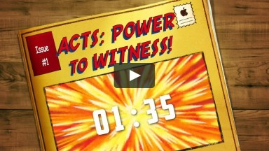 SK Week 5 - Power in Witnessing (Acts 8)