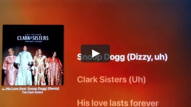 His Love - The Clark Sisters, feat Snoop Dogg | Lyric Video | cconlinechurch.com | Online Sunday Service Praise & Worshi