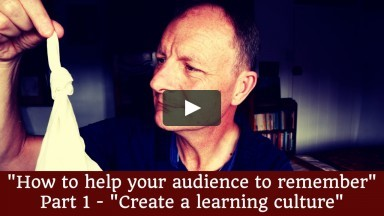 """How to help your audience remember"" - Part 1, Tuesday Teaching Tip 215"