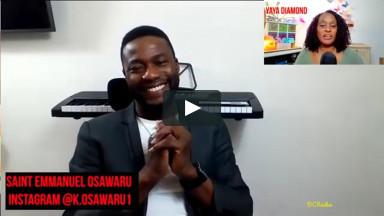 """Gospel recording artist Saint Emmanuel Osawaru debuts """"I love you Jesus"""""""