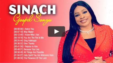 Way Maker Sinach Uplifted Gospel Songs Nonstop Medley � Powerful Sinach Christian Gospel Songs 2020 (2)