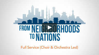 Missions Festival 2015 — Full Service (Choir & Orchestra Led)