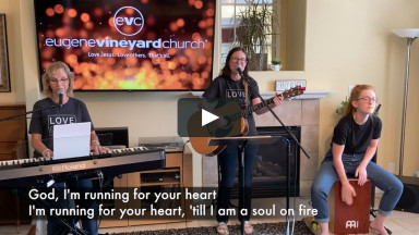 Eugene Vineyard Church weekly online gathering, September 6, 2020