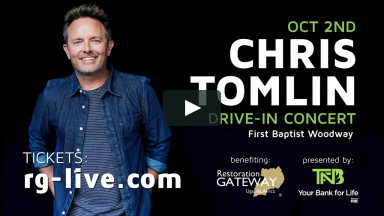 Chris Tomlin coming to Waco October 2nd!