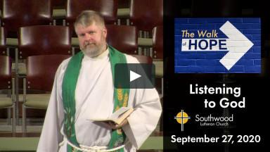 September 27, 2020 Worship
