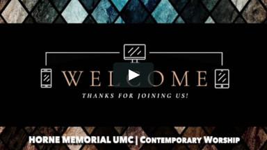 September 27, 2020 - Contemporary Worship Service