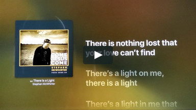 THERE IS A LIGHT BY STEPHEN MCWHIRTER at cconlinechurch.com Lyric Karaoke Videos