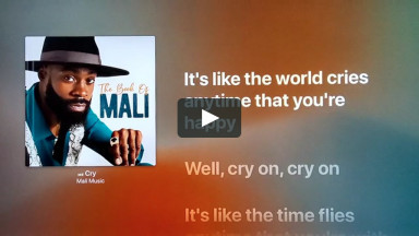 CRY BY MALI MUSIC at cconlinechurch.com Lyric Karaoke Videos