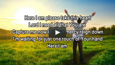 Here I Am - Tamela Mann (Christian Worship Gospel Song with Lyrics)
