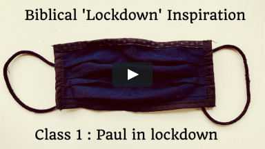 """Paul in Lockdown""; Class 1 - ""Inspiration in lockdown"""